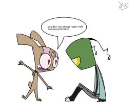 Lol Cute Bunny? by irkenkt