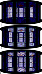 MMD Stain Glass Stage 2 by mbarnesMMD
