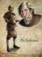 The InnKeeper by MikePerryArt