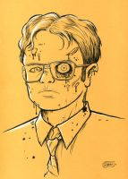 Zombie Dwight by SethWolfshorndl