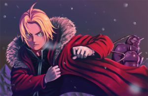 FMA - Brotherhood by yopakfu