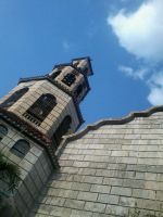 Church Bell Tower by redhotcinnamontwist