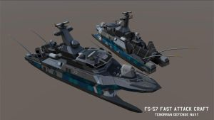 FS-57 Class Fast Attack Craft by Helge129