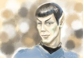 Spock sketch by tafafa