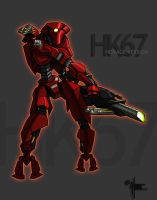 HK67 Assault Droid by Anakronox