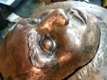 Copper Mask for an Gallery Show by TimeTurbine