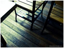 life in a wood floor by divzz