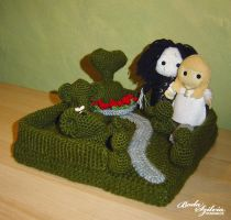 Happy Ending Topiary by bodaszilvia