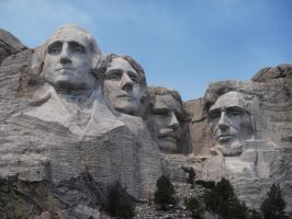 Mt. Rushmore by paint-and-pen-key