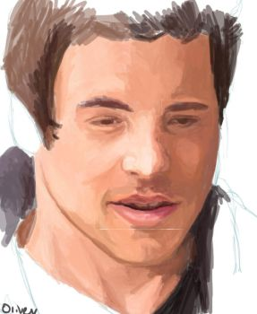 Cory Monteith by blue-owlet