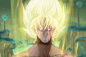 SuperSaiyanGoku by WootI-EAT-BABIES