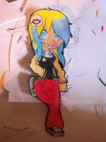 My emi paperchild by EmilyBlueStar