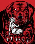 Clifford the Big Red Dog by suarezart