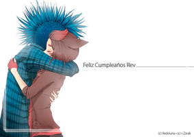 Feliz Cumple Rev! by i-Zorak