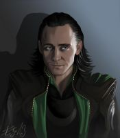 Loki, less realistic attempt... by eleathyra