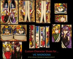Vic Mignogna Character Shoes by soccercat4685