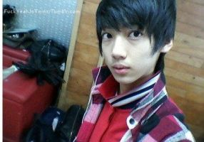 pre-debut youngmin by ambieshinee