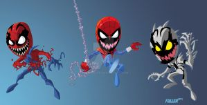 Those Rascally LiL Symbiotes by Chadfuller