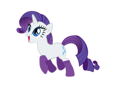 Rarity with Socks by eternaluprising4