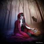 The red riding hood by violetgraphica