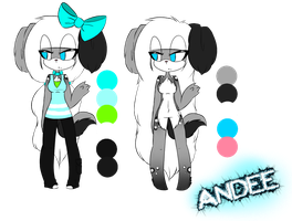 Andee Ref by DoodleFoxx