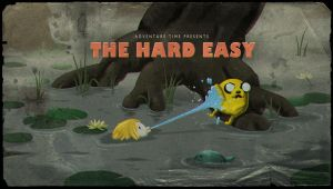 The Hard Easy Title Card!!!!!!!!!!!!!!! by adventuretimegurl123