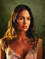 Megan Fox by AndyTkach
