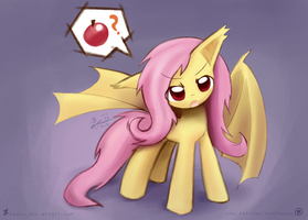 Weekly art#29 Flutterbat by HowXu