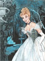 a portrait of cinderella by jwcd889