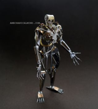 Chronoton (watch parts sculpture) by AMechanicalMind