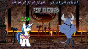 Pony Kombat Tournament Round 1, Battle 7 (Result) by Macgrubor