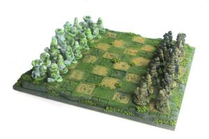 Immortal Stone Chess Set by Goomba-2007