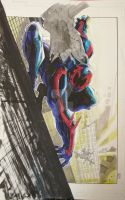 SpiderMan 2099 finished by jonomarks