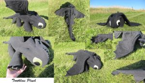 Toothless Plush by gankyicingyal