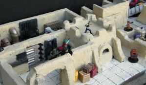 Star Wars Saga RPG Tatooine 3D by wolf74145