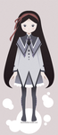 Homura Vector by atoms2ashes