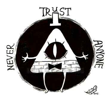 Day 11_INKTOBER 2015 [Never Trust Anyone] by ONEIRI
