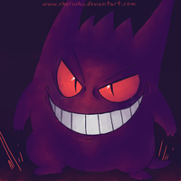 Gengar sly by ColonelCheru