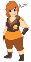 Gemsona: Amber by strawberryneko33