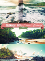 Tropical Coloring [PSD] by Rainbowepidemic