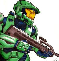 'Halo: Master Chief' by thebedtimestory