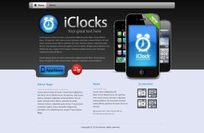 iClock for iPhone 4 by iconnice