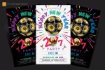New Year Party Flyer by satgur