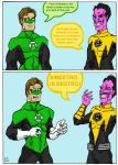 Green Lantern: Sinestro Is Bestro! by TheMonkeyYOUWant