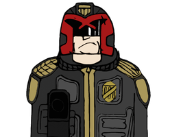 Judge Dredd by Jarvisrama99
