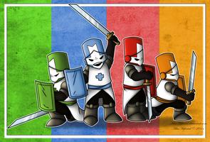 Castle Crashers by AikaArfeiniel