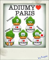 Adiumy Love Paris by Regivic