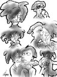 SIDESHOW BOB X CECIL DOODLES by Candys-Killer