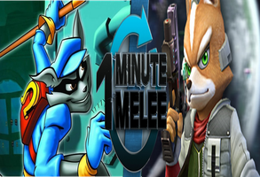 One Minute Melee: Sly Cooper vs Fox McCloud by ChrisNest