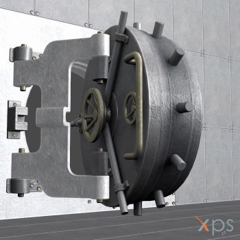 Bank Safe Vault Lock bolt test by Haganeya